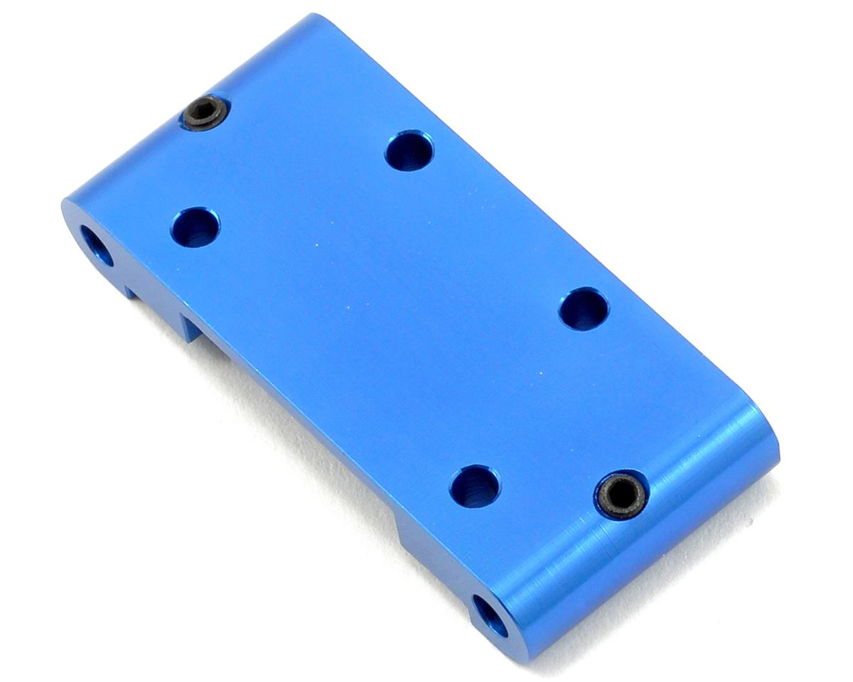 ST Racing Concepts Aluminum HD Front Bulkhead (Blue)