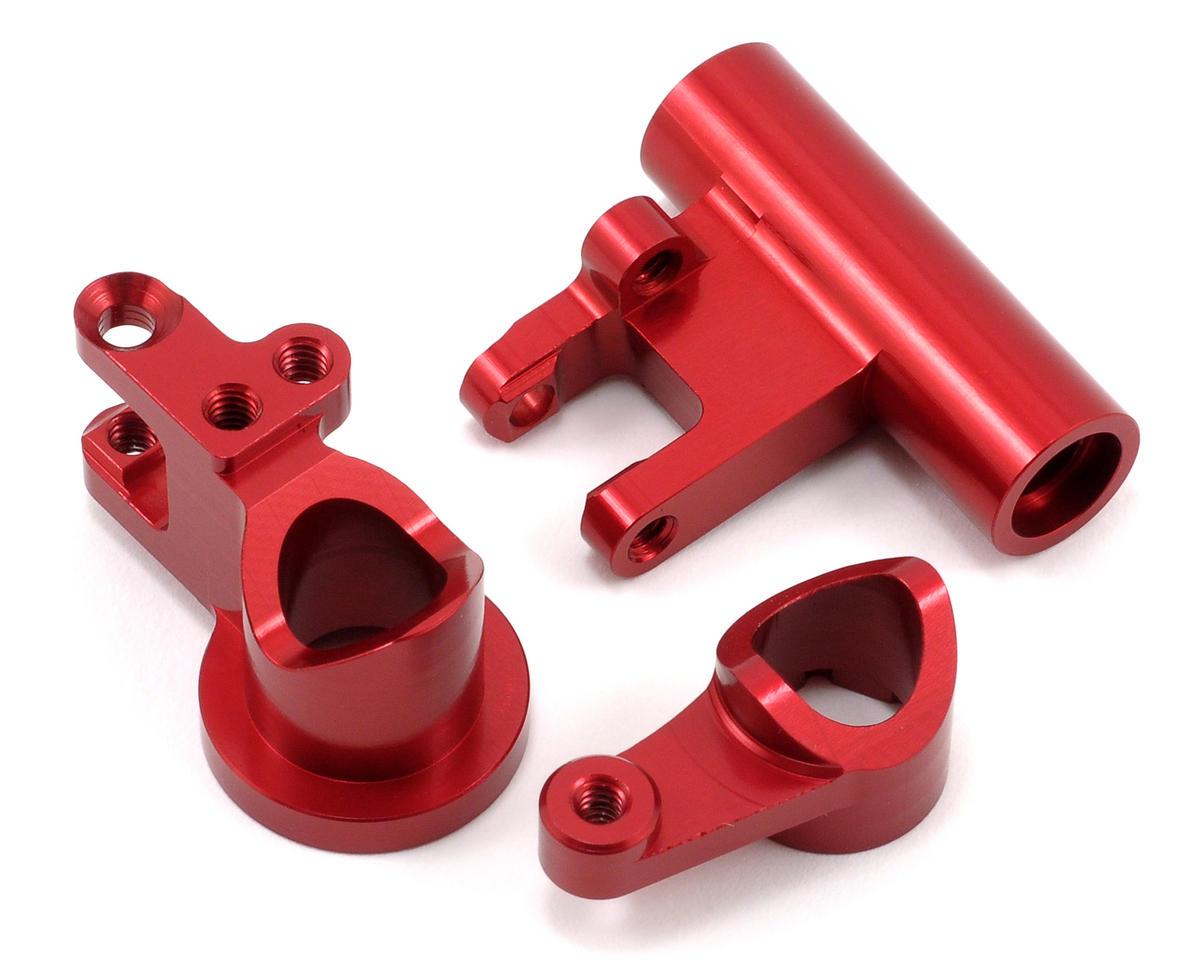 ST Racing Concepts Aluminum Steering Rack Set (Red)
