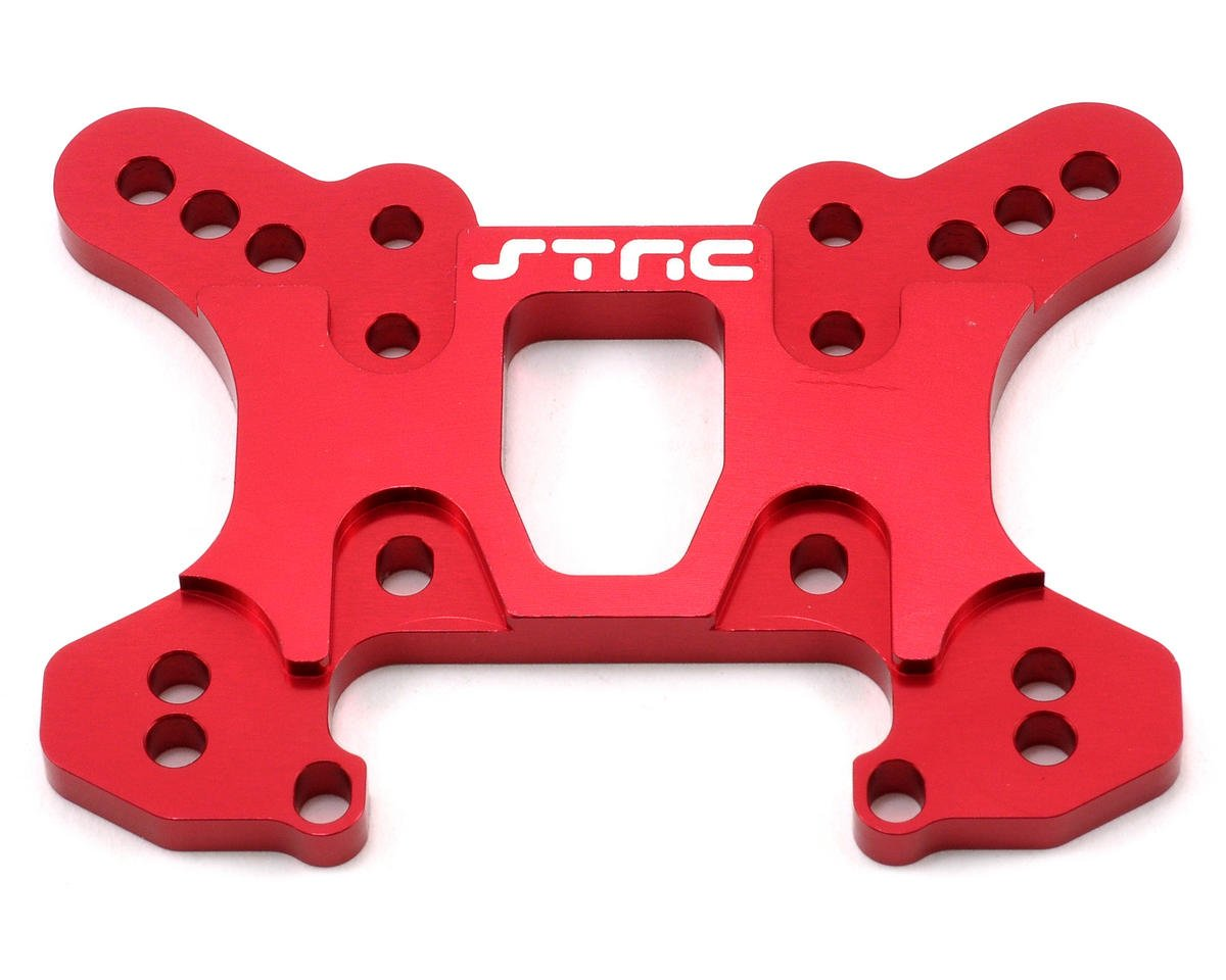 Aluminum HD Front Shock Tower (Red) by ST Racing Concepts