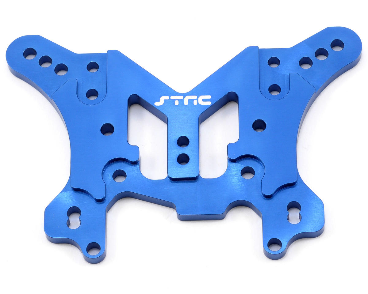 Aluminum HD Rear Shock Tower (Blue) by ST Racing Concepts