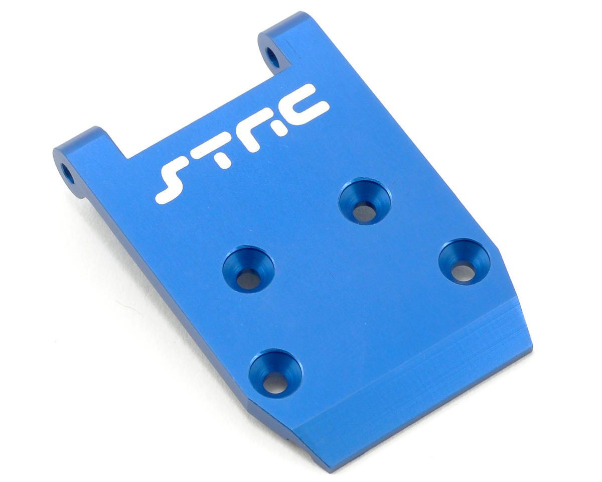 Aluminum HD Front Skid Plate (Blue) by ST Racing Concepts