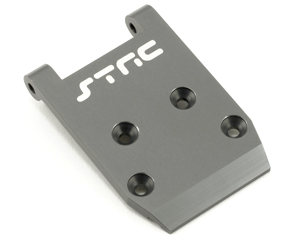 ST Racing Concepts Aluminum HD Front Skid Plate (Gun Metal) (Losi XXX-SCB)