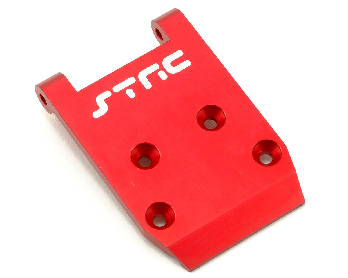Aluminum HD Front Skid Plate (Red) by ST Racing Concepts