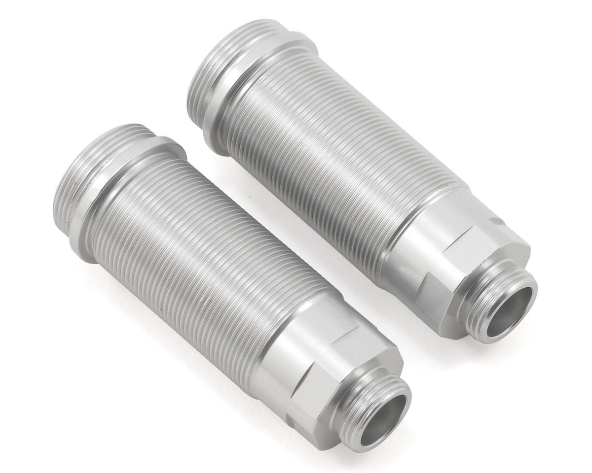 ST Racing Concepts Aluminum Rear Shock Body Set (Silver) (2)
