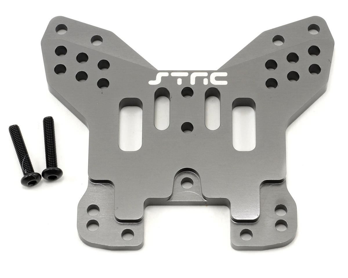 ST Racing Concepts 5mm HD Aluminum Rear Shock Tower (Gun Metal)