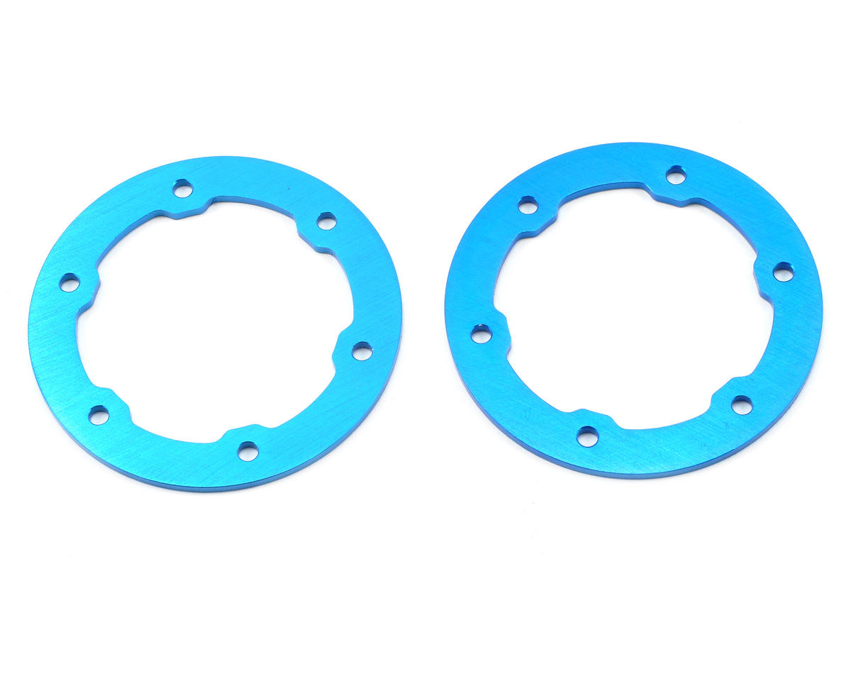ST Racing Concepts Aluminum Beadlock Rings (Blue) (2)