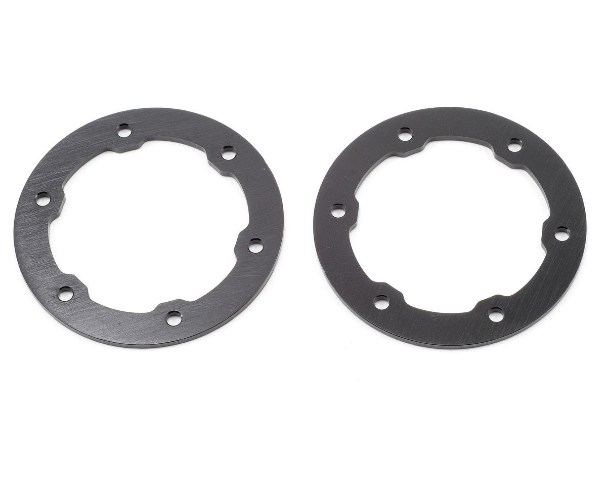 ST Racing Concepts Aluminum Beadlock Rings (Black) (2)