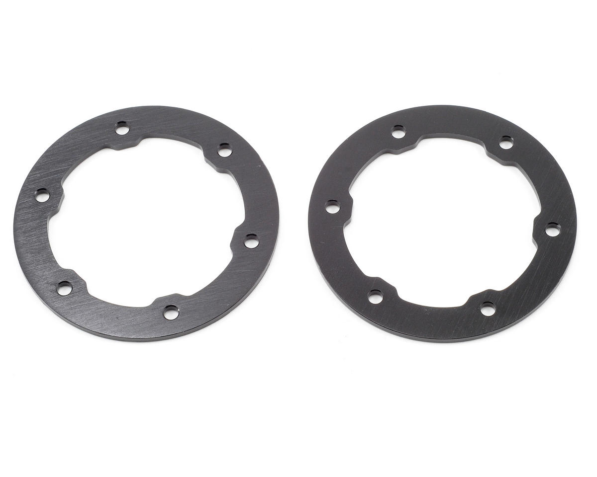 Aluminum Beadlock Rings (Black) (2) by ST Racing Concepts