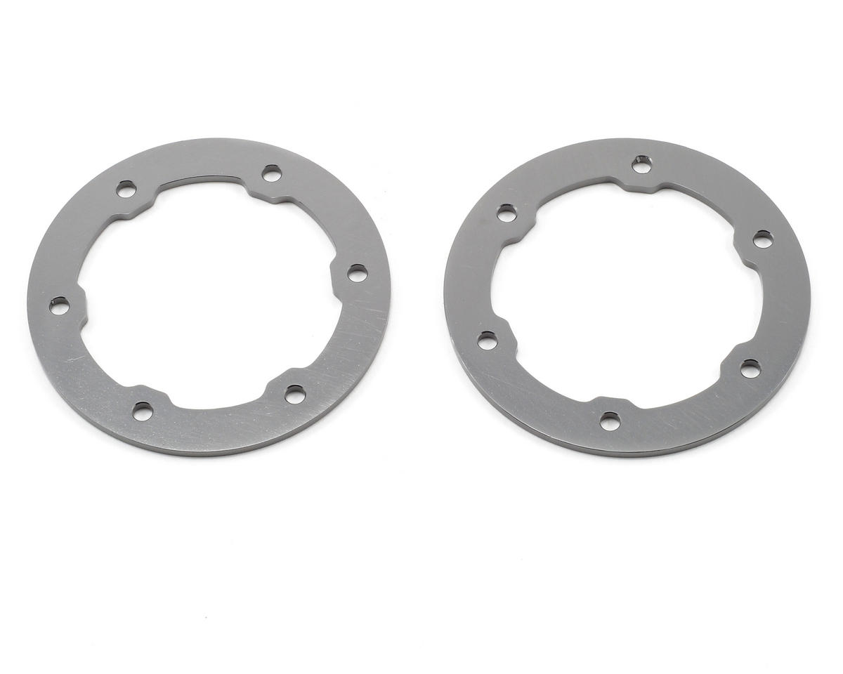 ST Racing Concepts Aluminum Beadlock Rings (Gun Metal) (2)