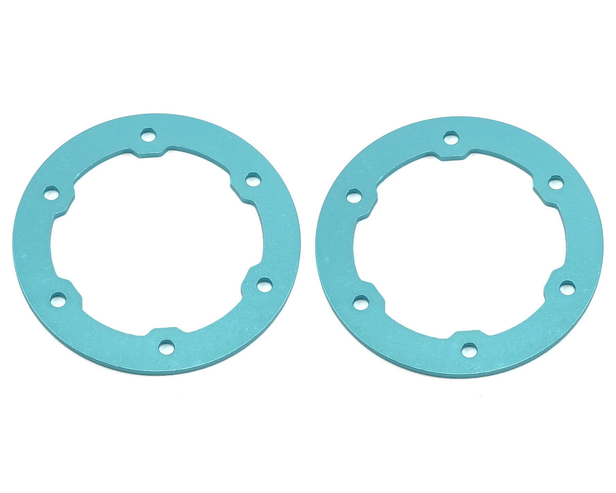 ST Racing Concepts Aluminum Beadlock Rings (Light Blue) (2) (Traxxas Slayer)
