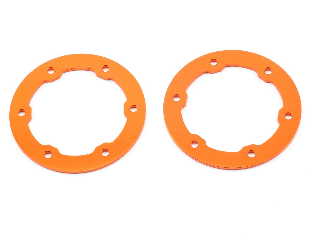 ST Racing Concepts Aluminum Beadlock Rings (Orange) (2)