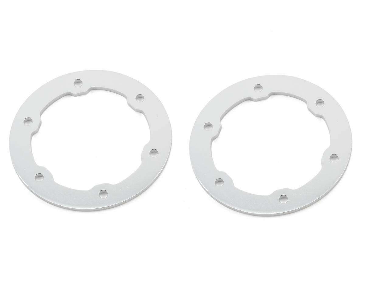 Aluminum Beadlock Rings (Silver) (2) by ST Racing Concepts