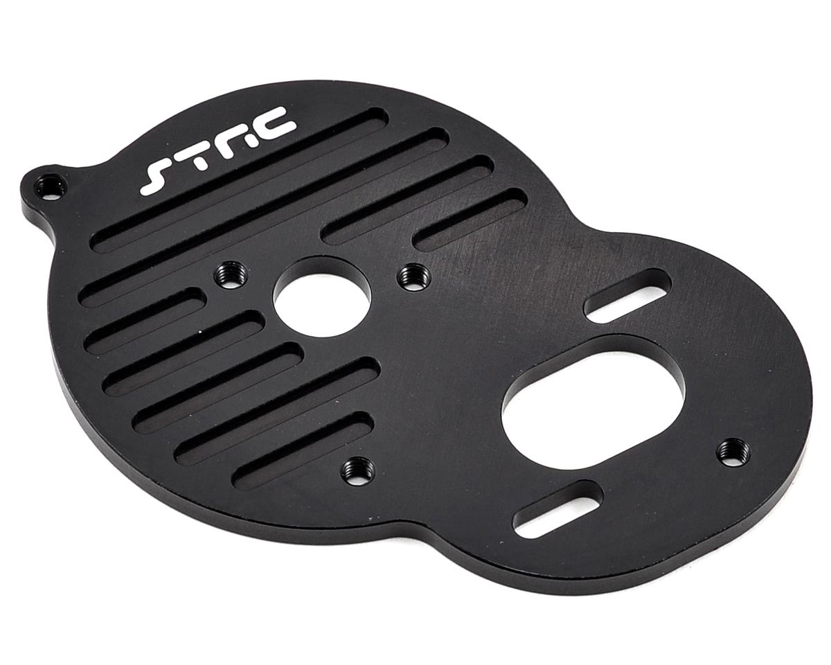Aluminum Heat Sink Motor Plate (Black) by ST Racing Concepts