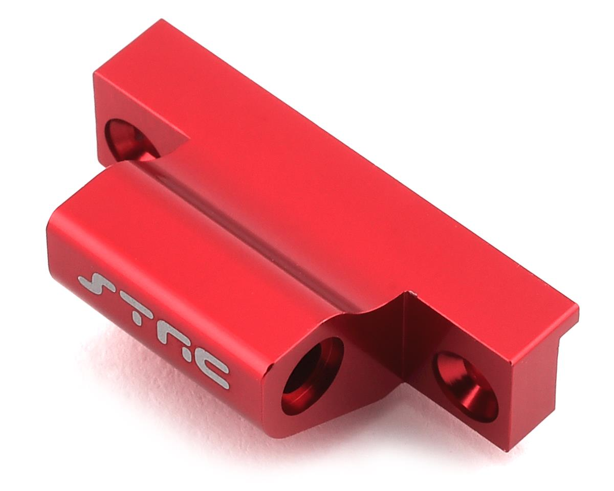 ST Racing Concepts Arrma Outcast 6S Aluminum Rear Wing Mount Base (Red) | relatedproducts