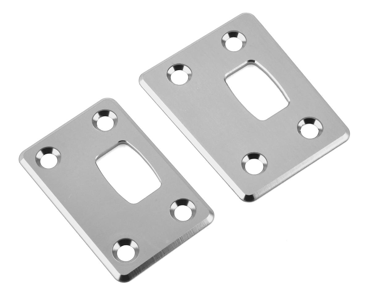 ST Racing Concepts Arrma Outcast 6S Aluminum Chassis Protector Plates (Silver) | alsopurchased