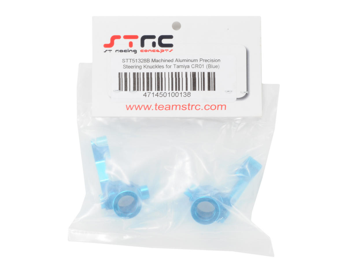 ST Racing Concepts Aluminum Steering Knuckle set (Blue)