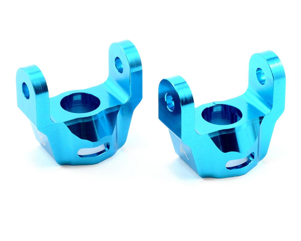 ST Racing Concepts Aluminum Hub Carriers (Blue)