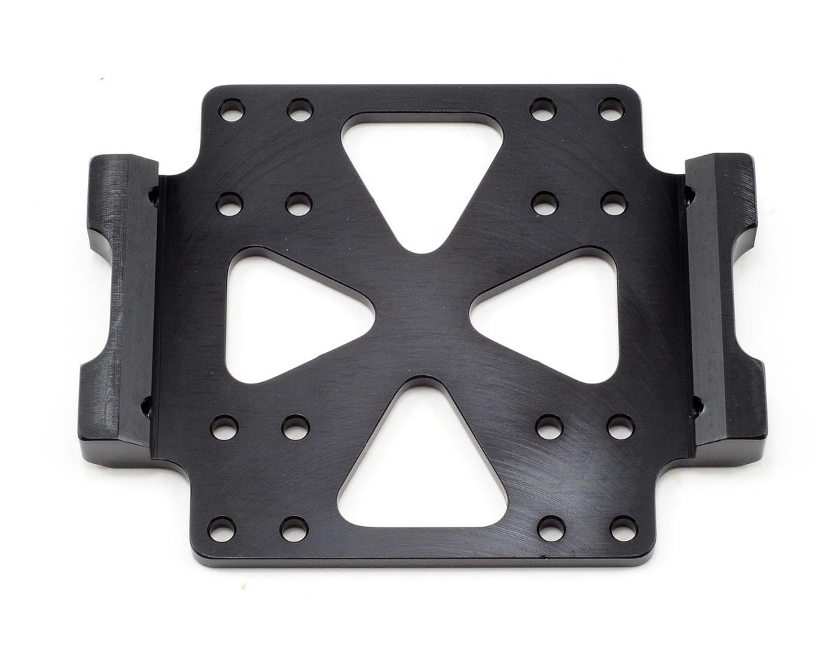 ST Racing Concepts Aluminum Center Skid Plate (Black)