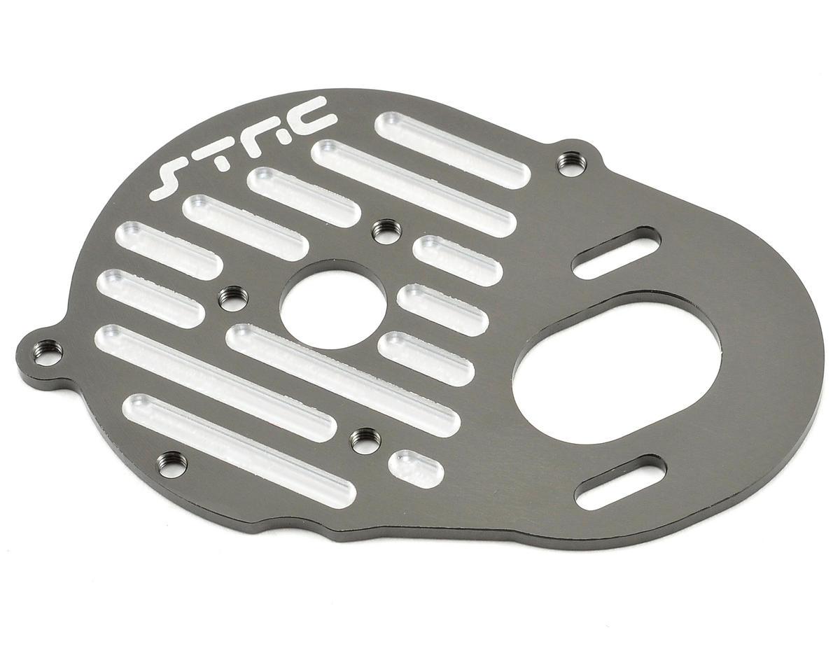 ST Racing Concepts Aluminum Finned Heatsink Motor Plate (Gun Metal)