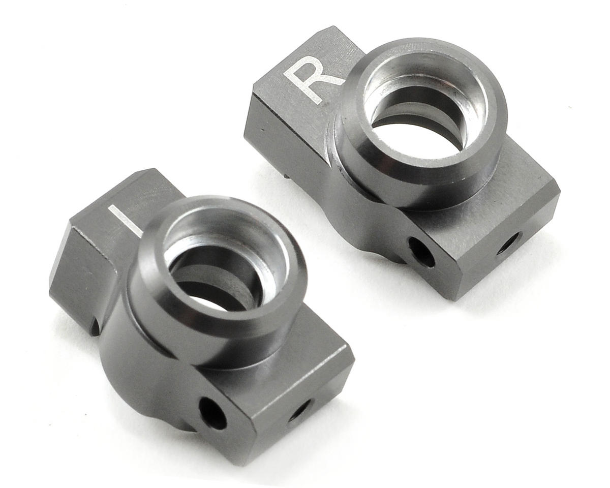 ST Racing Concepts 0° SP2 Style Aluminum Rear Hub Carrier Set (Gun Metal)