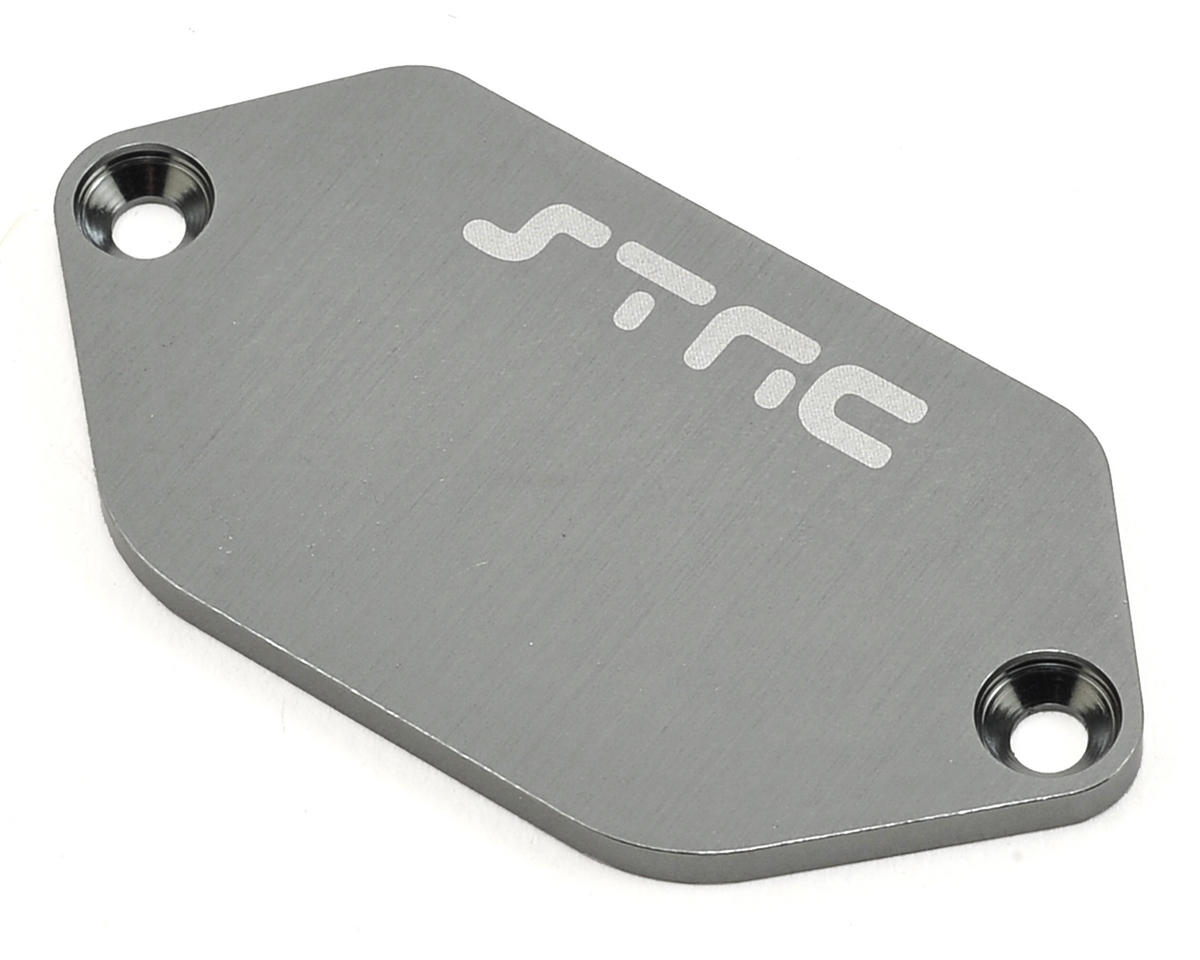 Vaterra Ascender Aluminum Electronic Plate (Gun Metal) by ST Racing Concepts