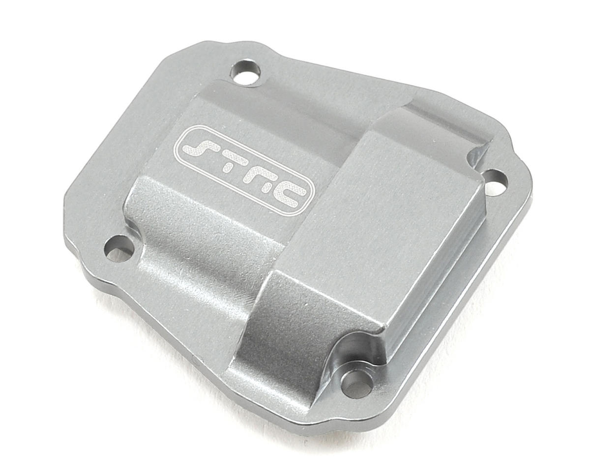 Vaterra Ascender Aluminum Differential Cover (Silver) by ST Racing Concepts
