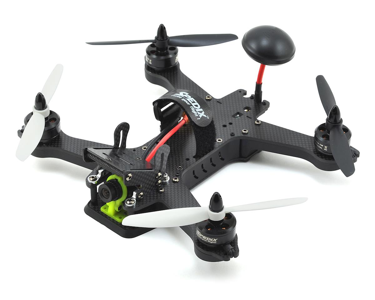 Black Knight 210 Carbon Fiber BTF FPV Drone Kit by Spedix