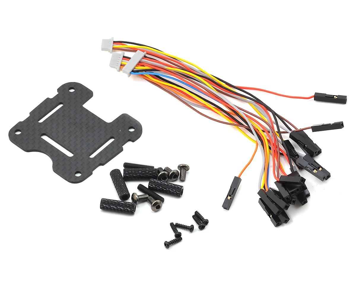 Black Knight 210 Carbon Fiber BTF FPV Drone Kit by Spedix