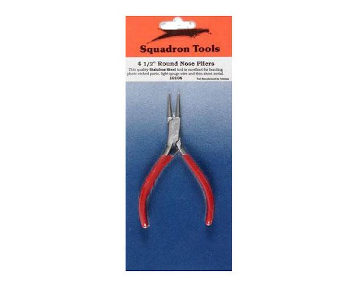 Squadron Products Pliers,Round Nose,5""