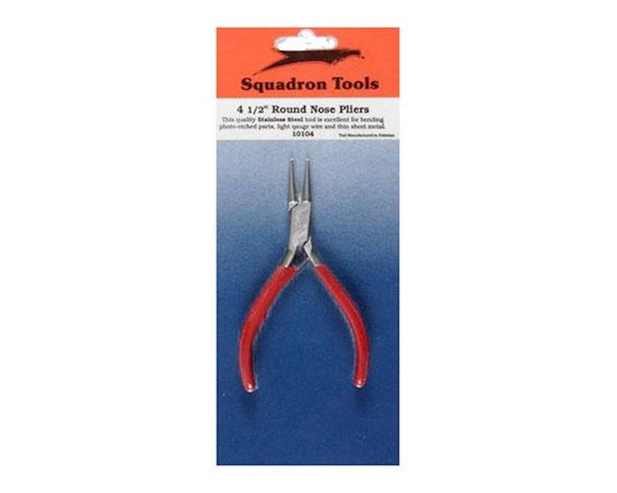 """Pliers,Round Nose,5"""" by Squadron Products"""