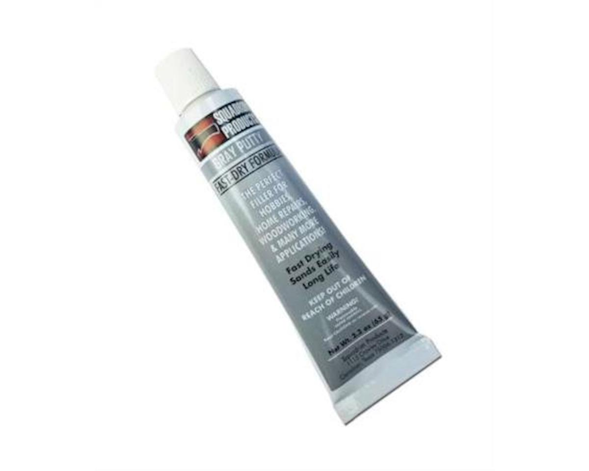 Squadron Products Squadron 20202C Gray Putty for Model & Hobby (2.3 oz tube)