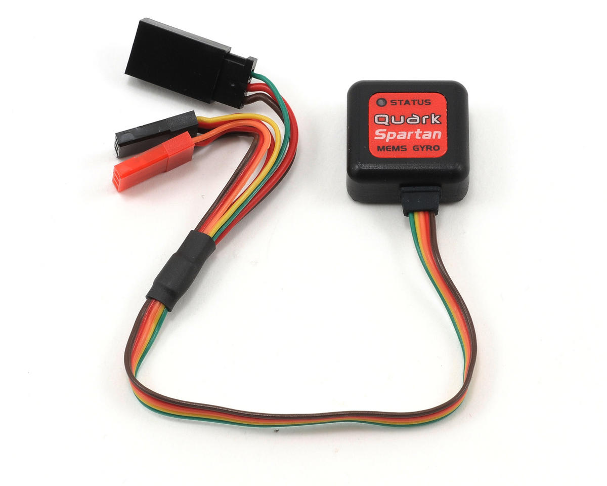 Spartan RC Quark MEMS AVCS Gyro (Black) | relatedproducts