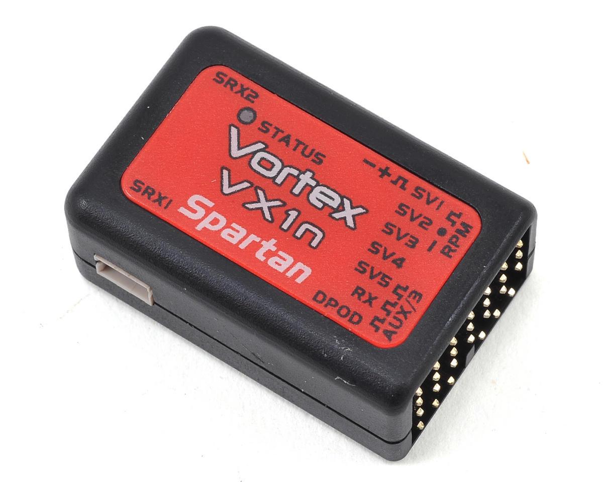 Spartan RC Vortex VX1n Flybarless Controller Combo w/DataPod Programmer