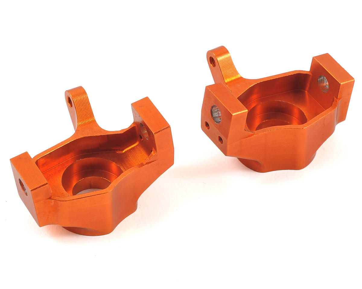 SSD RC D60 Knuckles (Orange) (2) (AR60 Axle)