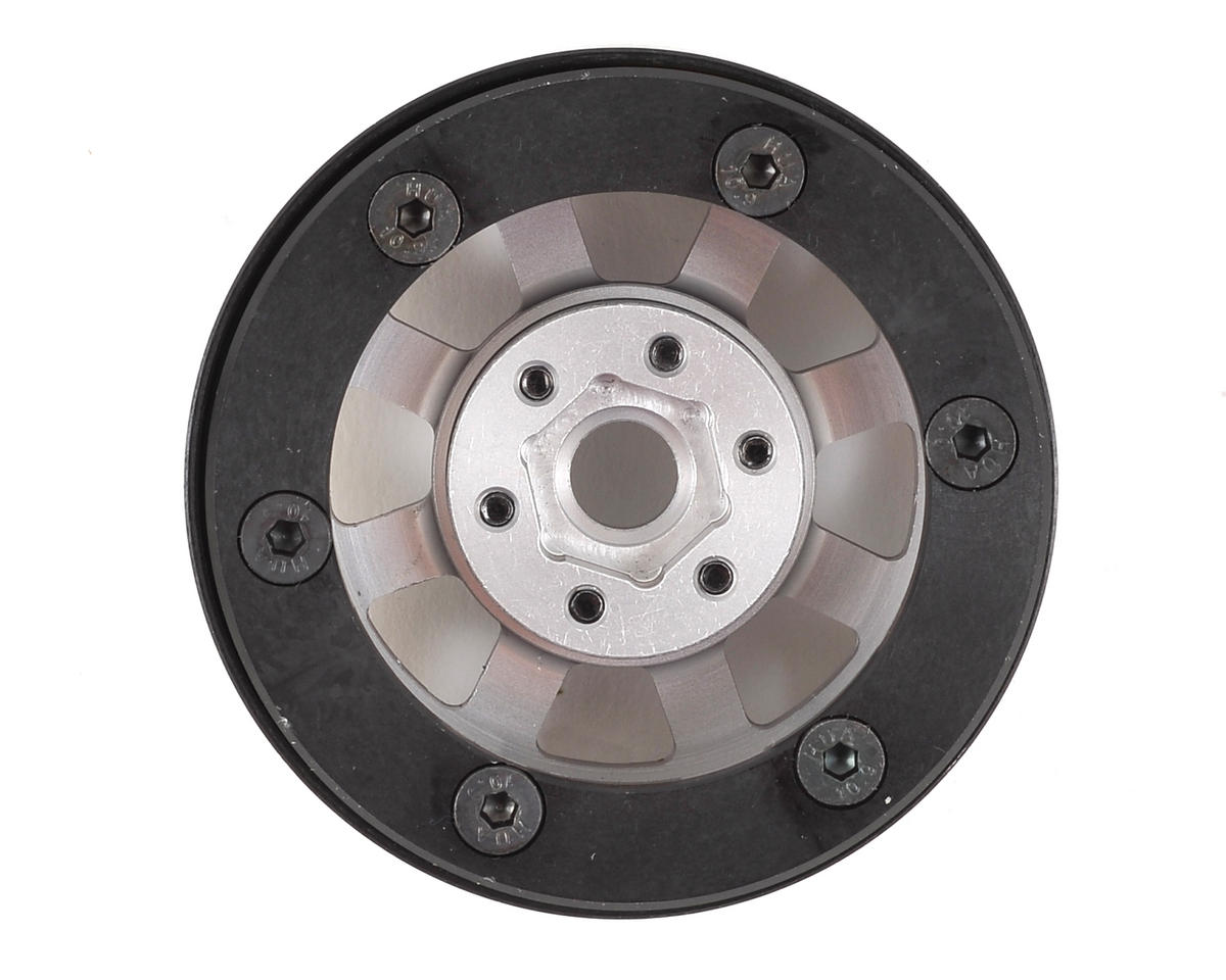 "SSD RC Assassin 1.9"" Beadlock Crawler Wheels (Grey) (2)"