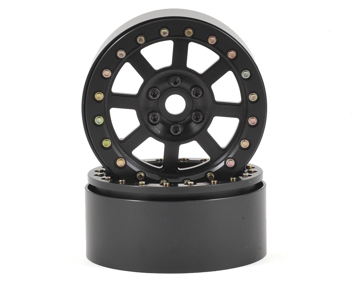 "Assassin 2.2"" Beadlock Crawler Wheels (Black) (2)"