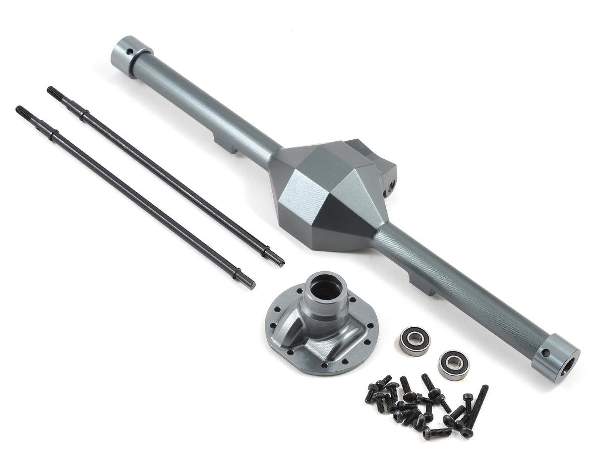 Yeti Wide Diamond Centered Rear Axle (Grey)