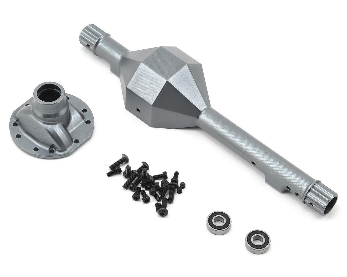 SSD RC Wraith Diamond Front Axle (Grey)