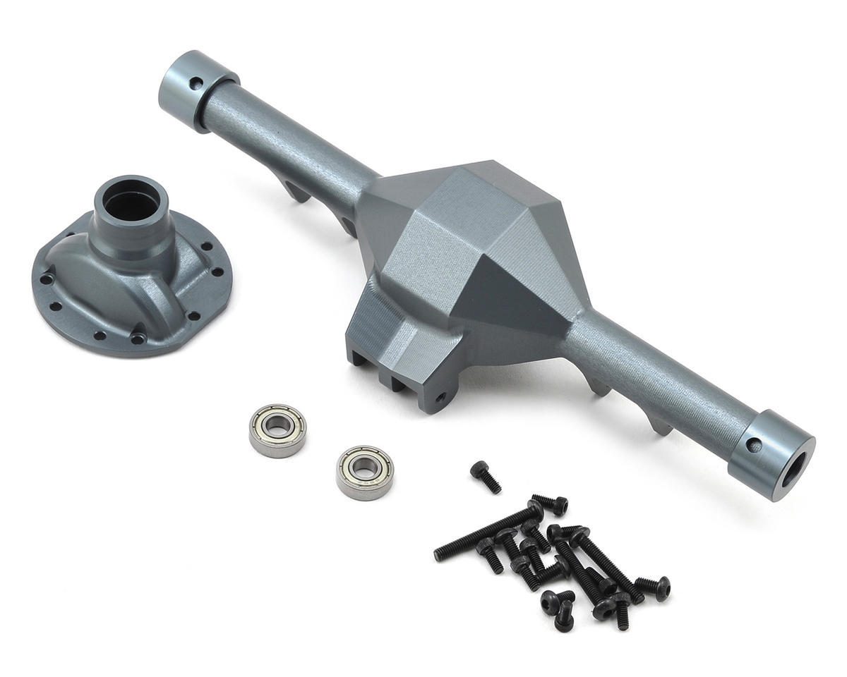 SCX10 Diamond Rear Axle (Grey) by SSD RC