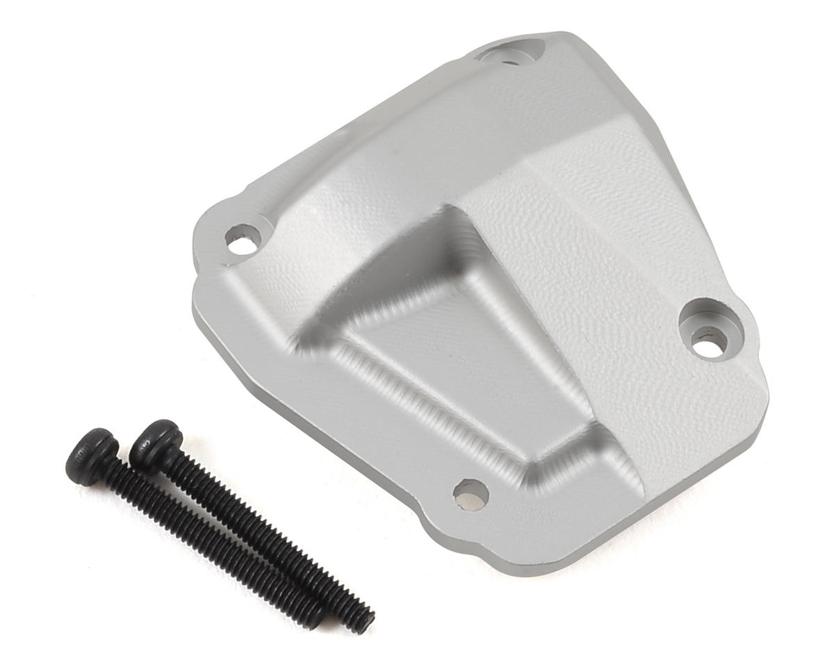 Ascender Rock Shield Differential Cover (Silver) by SSD RC