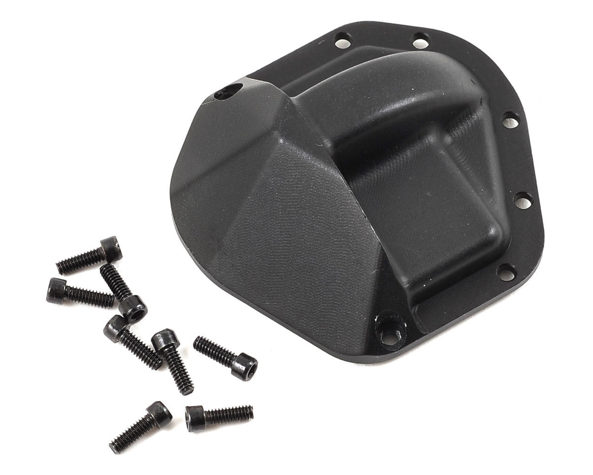 D60 HD Differential Cover (Black) by SSD RC