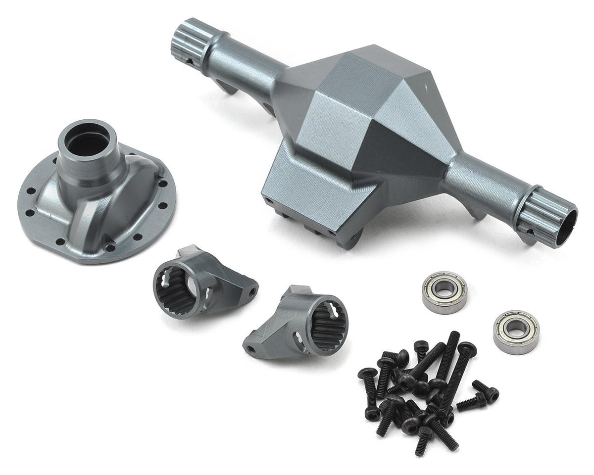SSD RC Diamond Front SCX10 Axle (Grey)