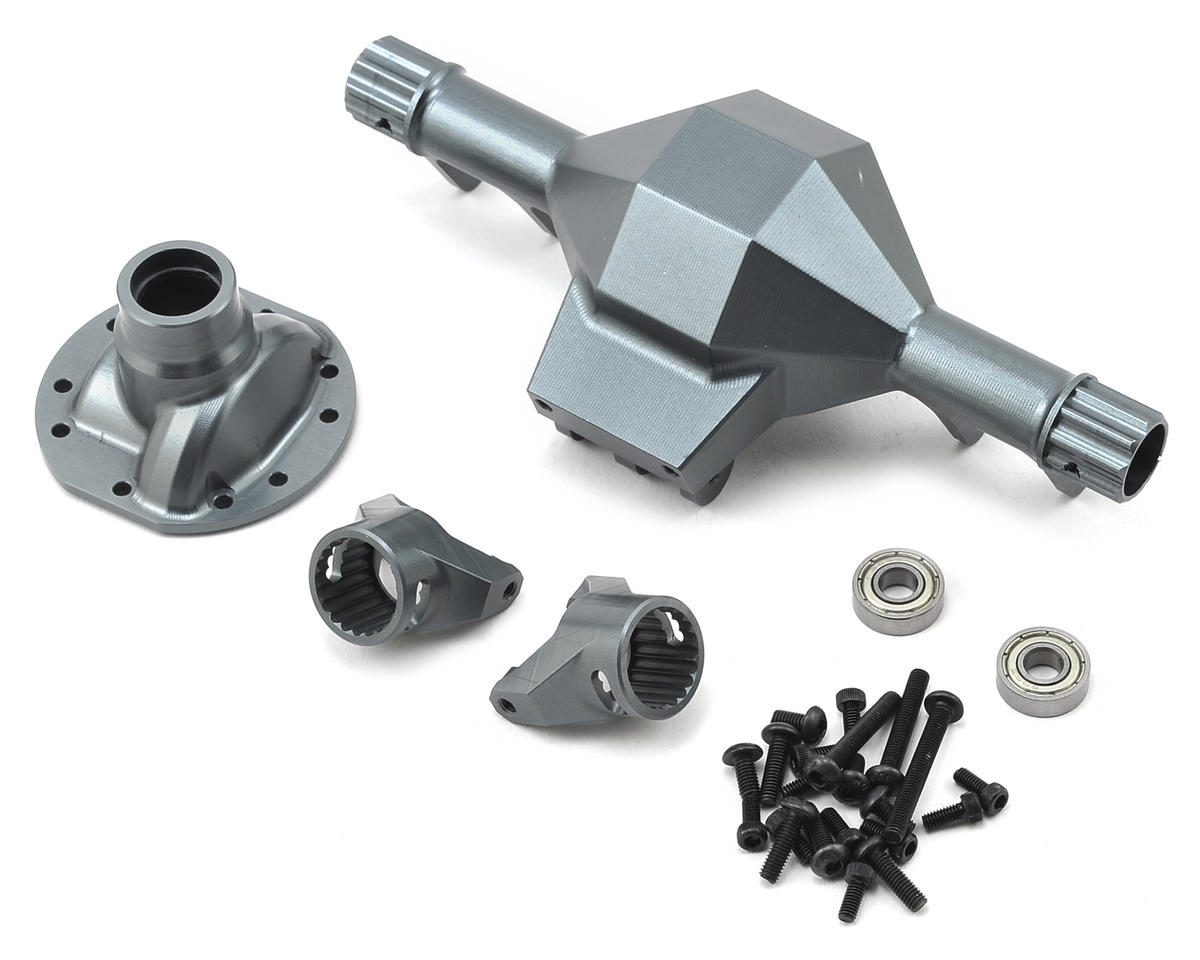 Diamond Front SCX10 Axle (Grey) by SSD RC