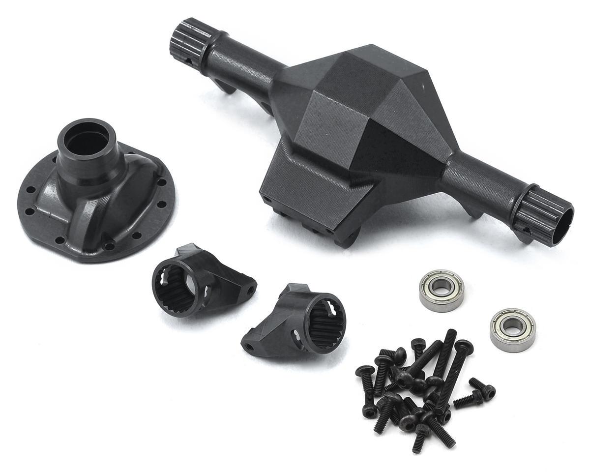 SSD RC Diamond Front SCX10 Axle (Black)
