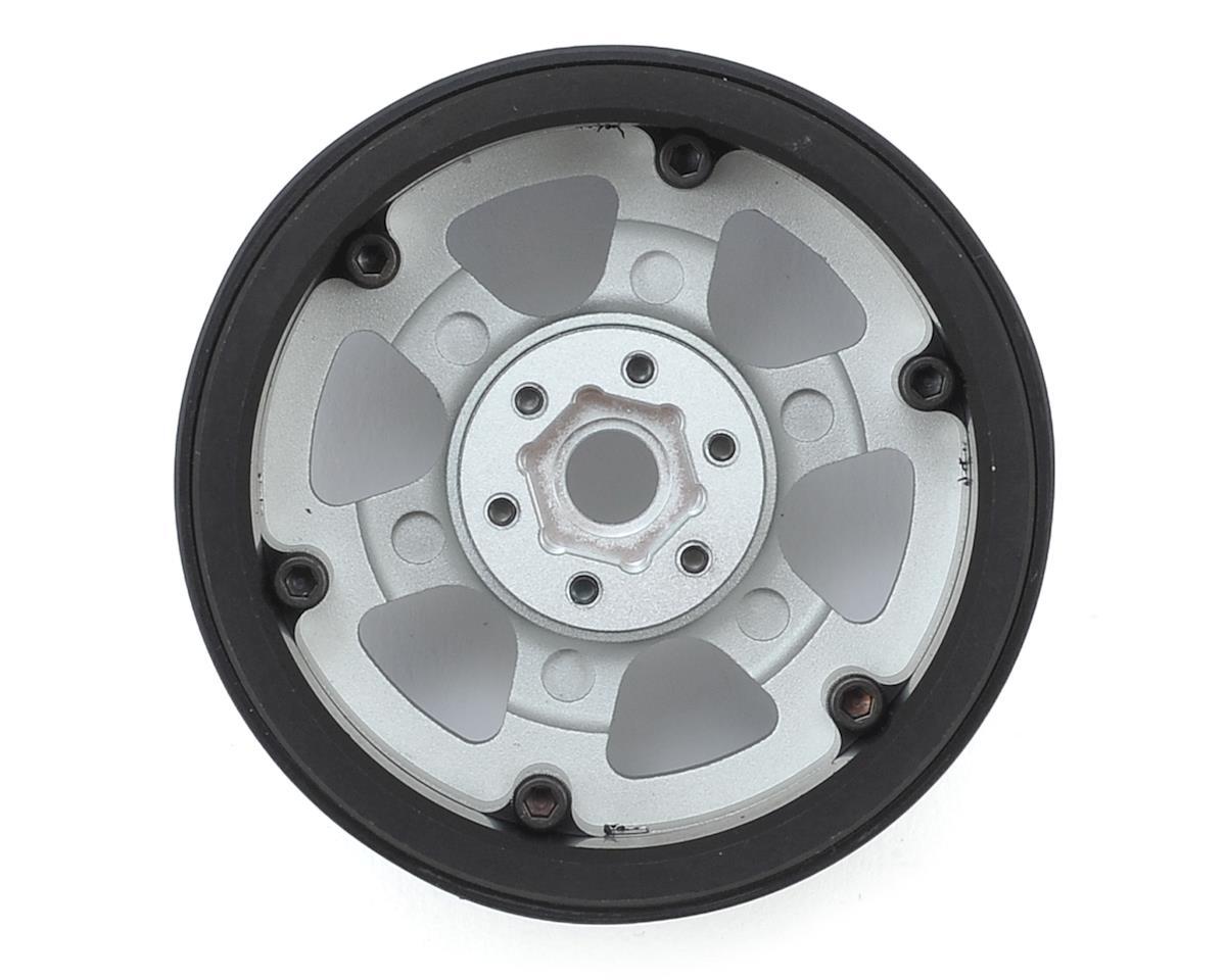 SSD RC 2.2 Rock Racer Beadlock Wheels (Silver)