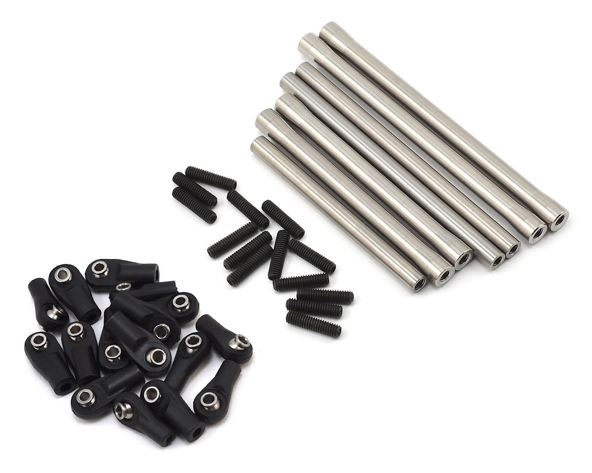 SSD RC SCX10 II HD Steel & Titanium Suspension Link Set