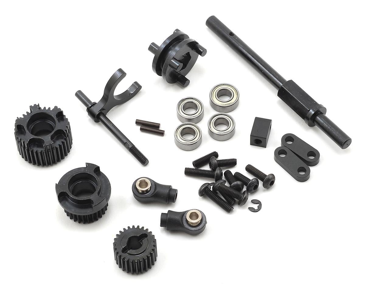 SCX10 II 2-Speed Transmission Conversion Kit by SSD RC