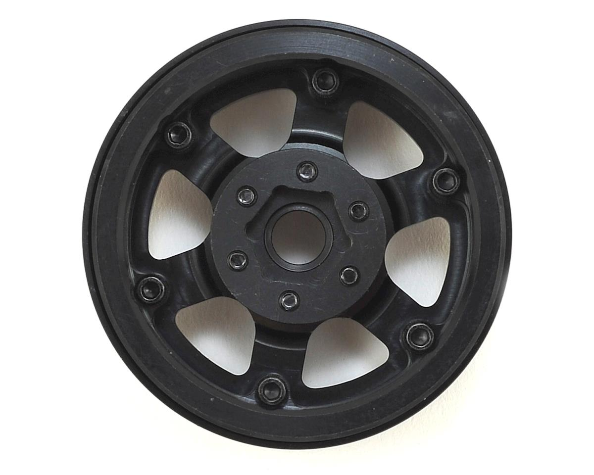 SSD RC 1.9 Rock Racer Wheels (Black/Silver) (2)