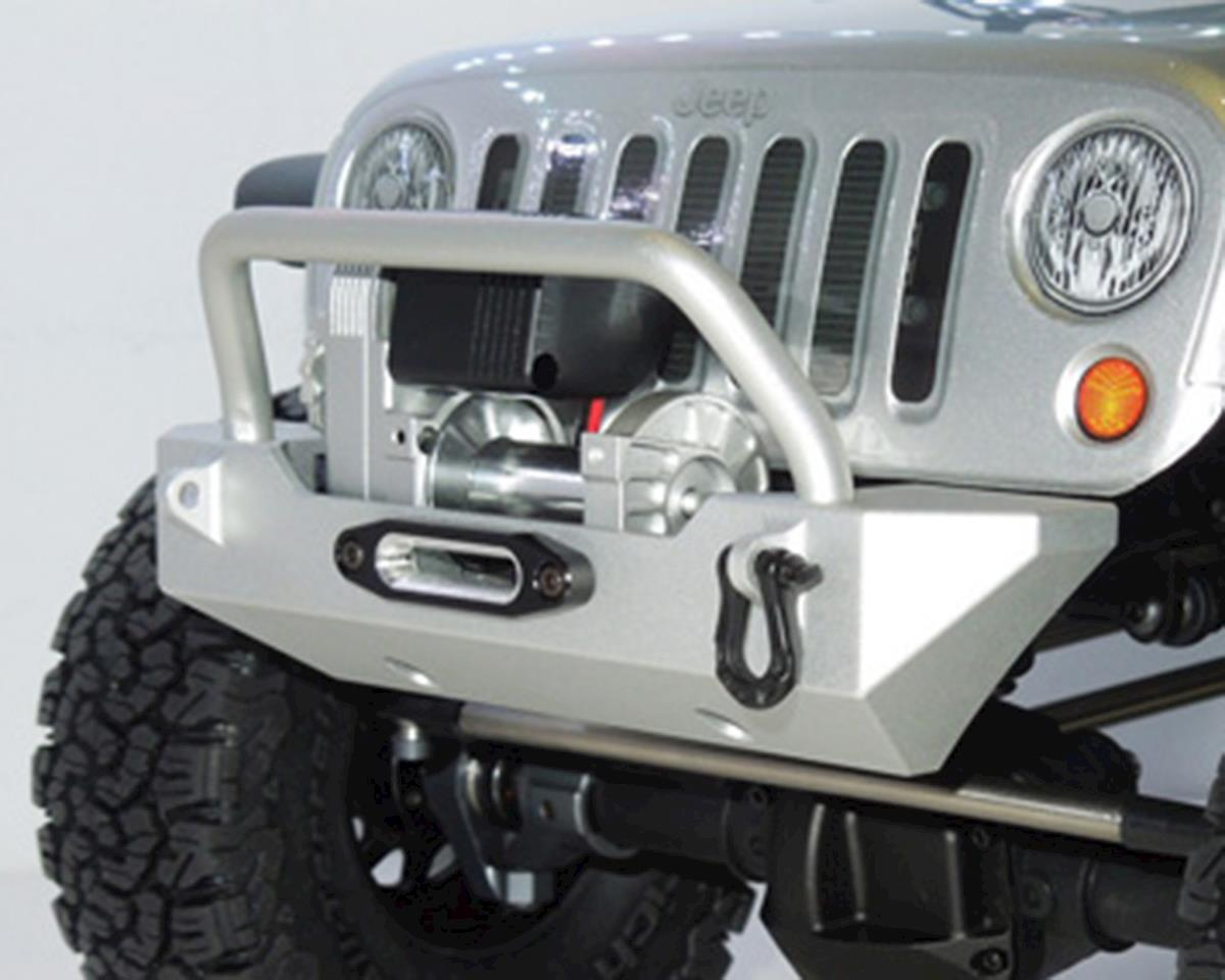 SSD RC Rock Shield Narrow Winch Bumper (Silver)