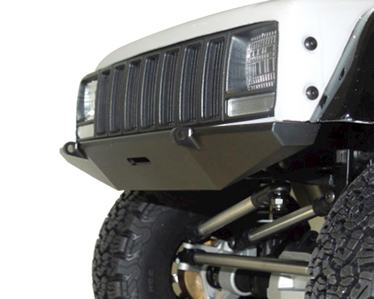 SSD RC SCX10 II Rock Shield Wide Front Bumper